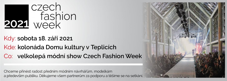 Czech Fashion Week  2021 - Teplice