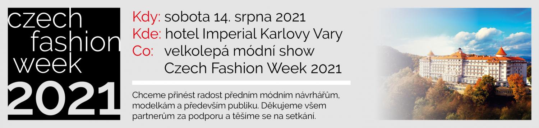 Czech Fashion Week 2021 – Charity Fashion Show